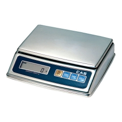 Порционные весы CAS PW-II НПВ=2,5,10кг, нержавеющая сталь